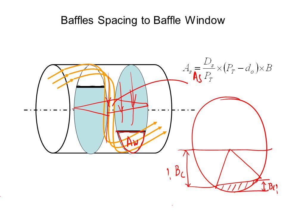 Baffles Spacing to Baffle Window