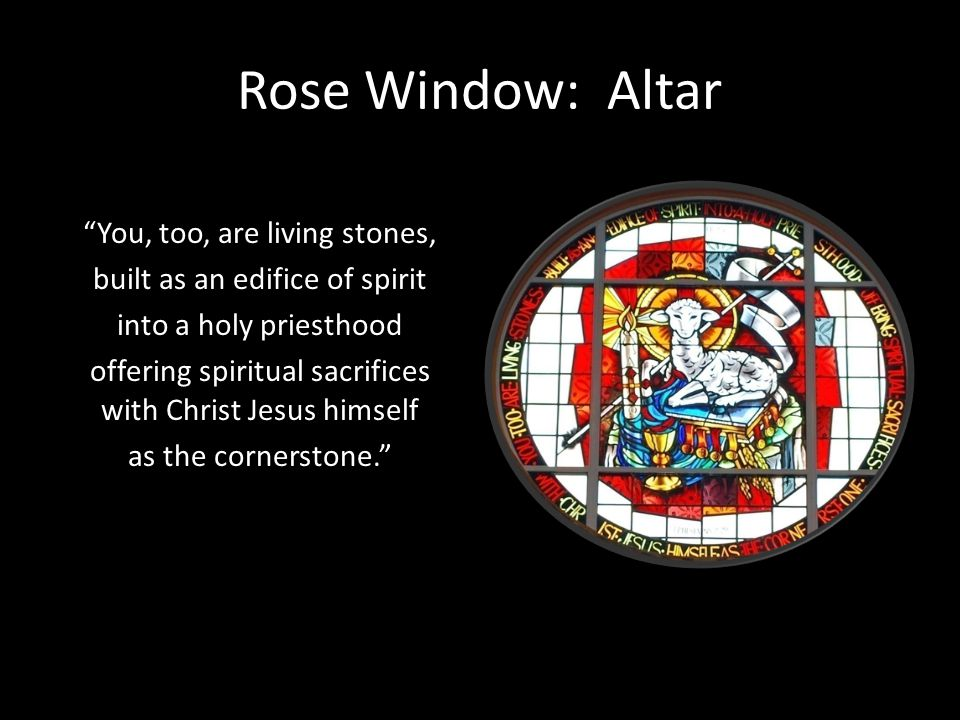 Rose Window: Altar