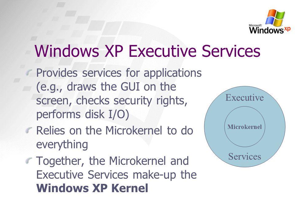 Windows XP Executive Services