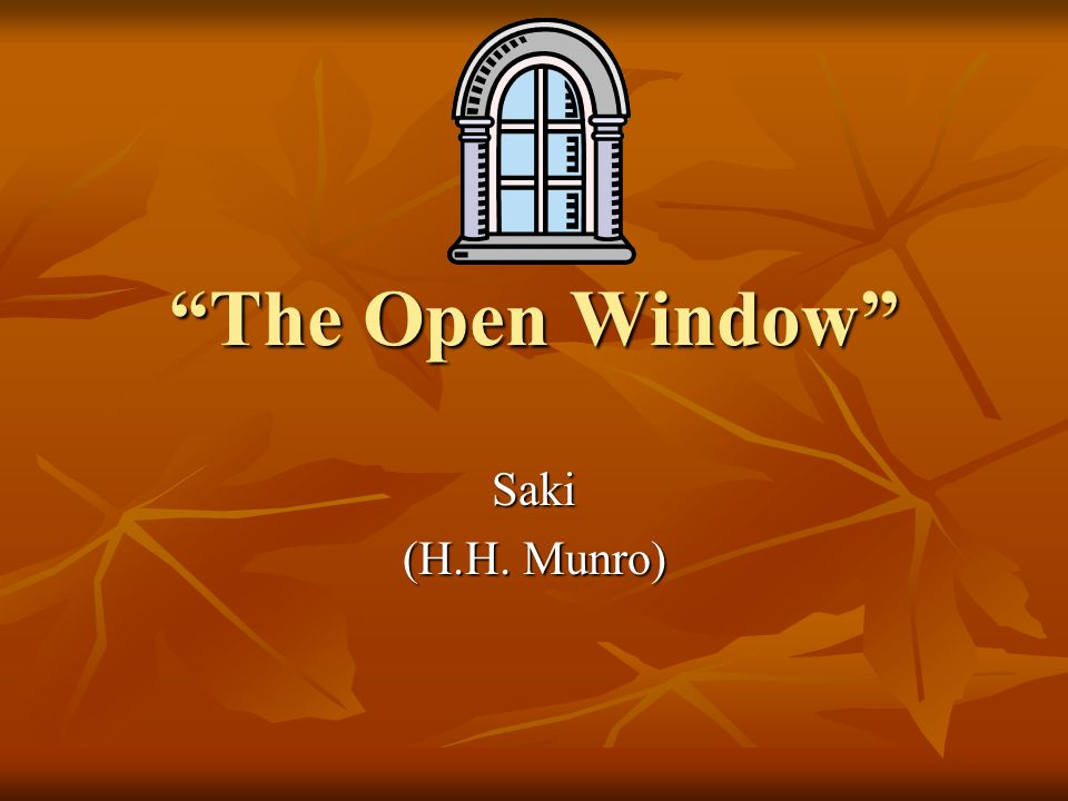 the open window by saki character analysis