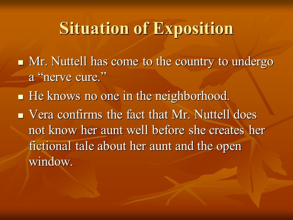 Situation of Exposition