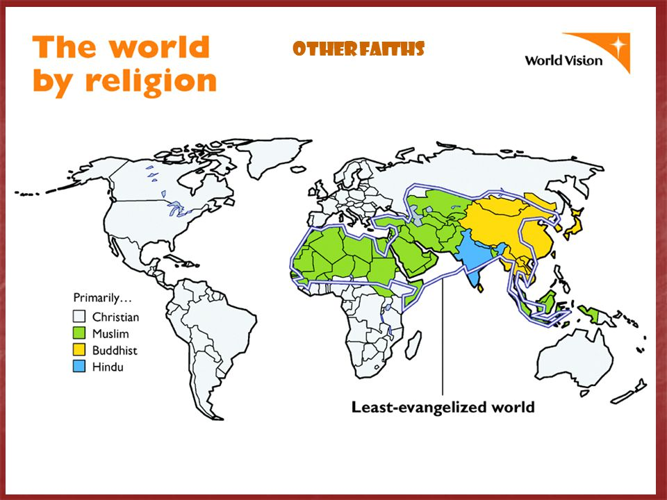 OTHER FAITHS In the 21st century…