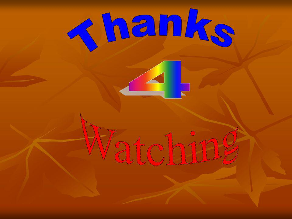 Thanks 4 Watching