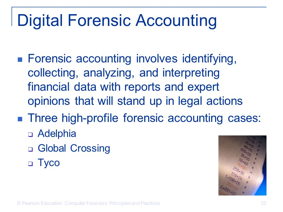 Digital Forensic Accounting