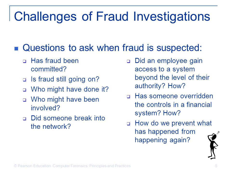 Challenges of Fraud Investigations