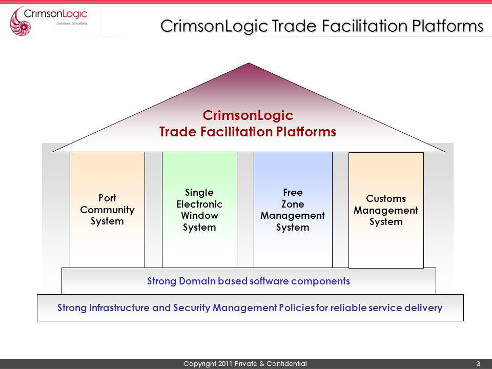 CrimsonLogic Trade Facilitation Platforms
