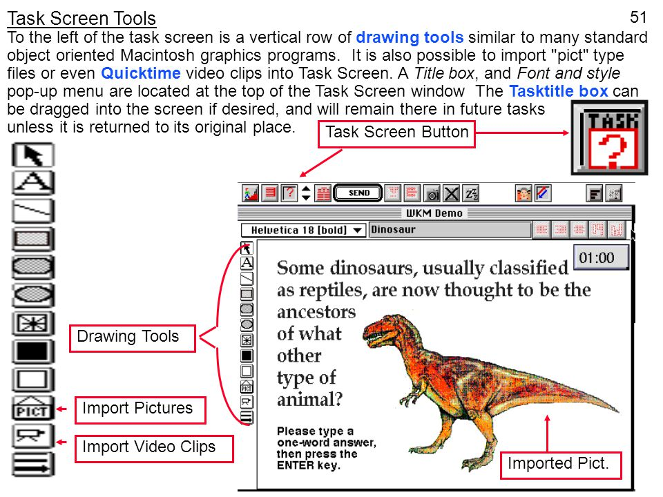 Task Screen Tools