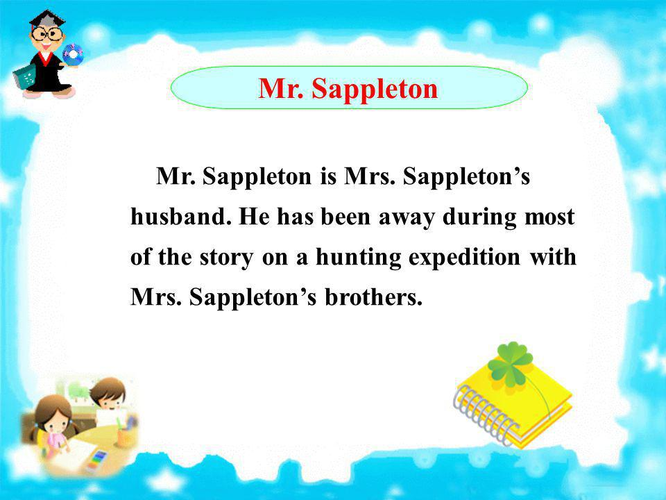 Mr. Sappleton