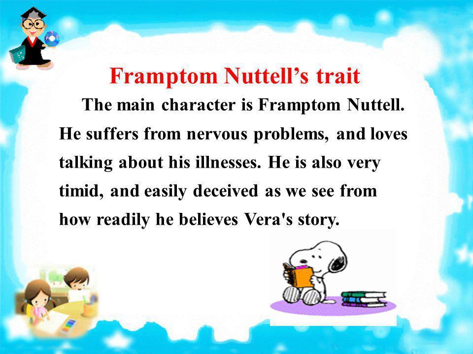 Framptom Nuttell's trait