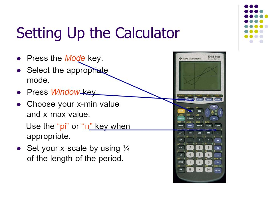 Setting Up the Calculator