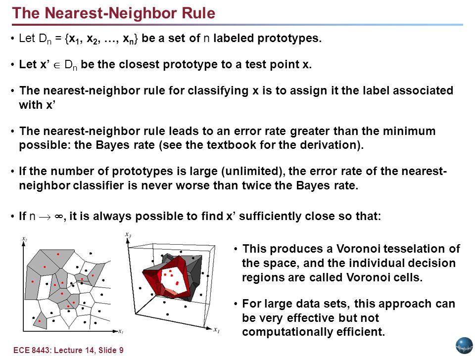 The K-Nearest-Neighbor Rule