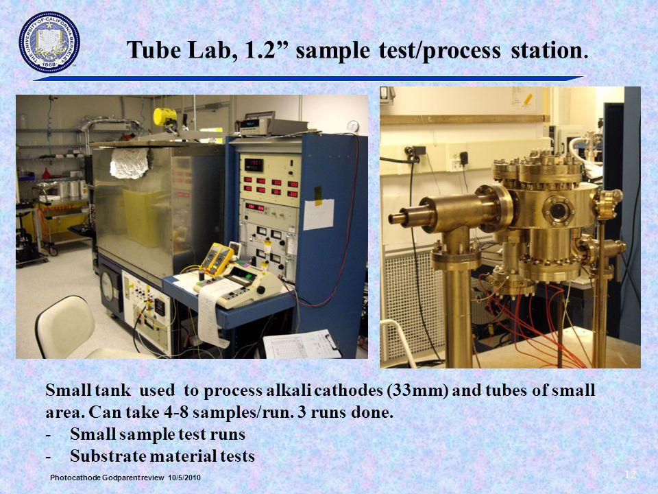 Tube Lab, 1.2 sample test/process station.