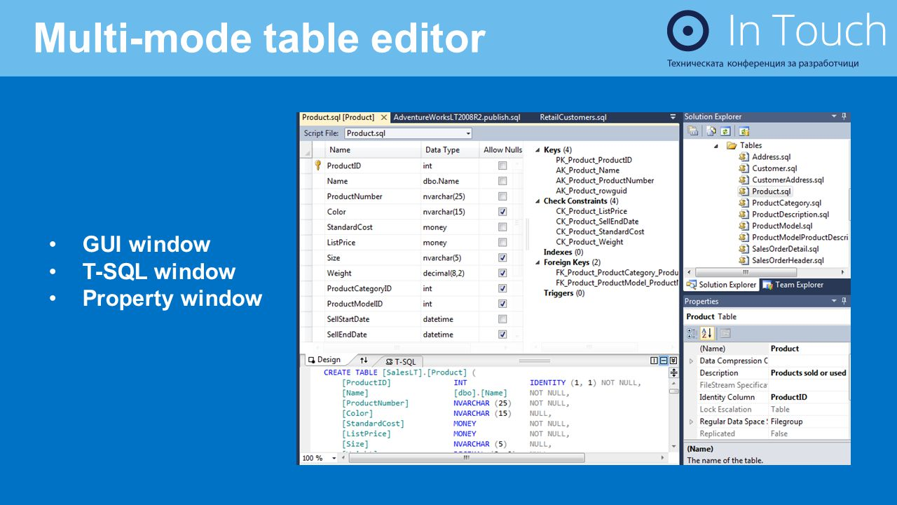 Multi-mode table editor