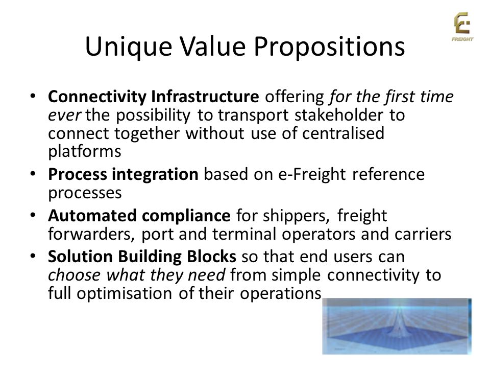 Unique Value Propositions