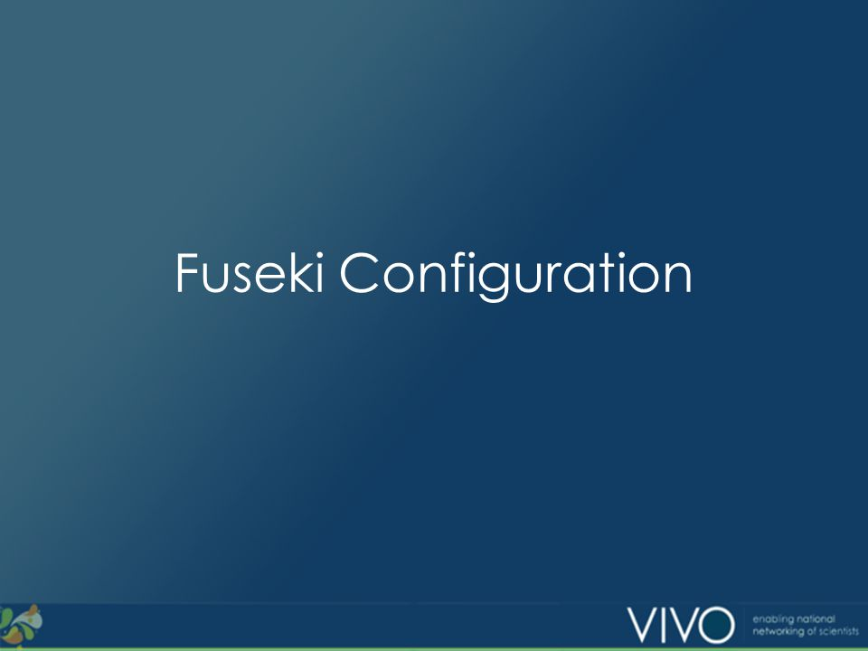 Fuseki Configuration