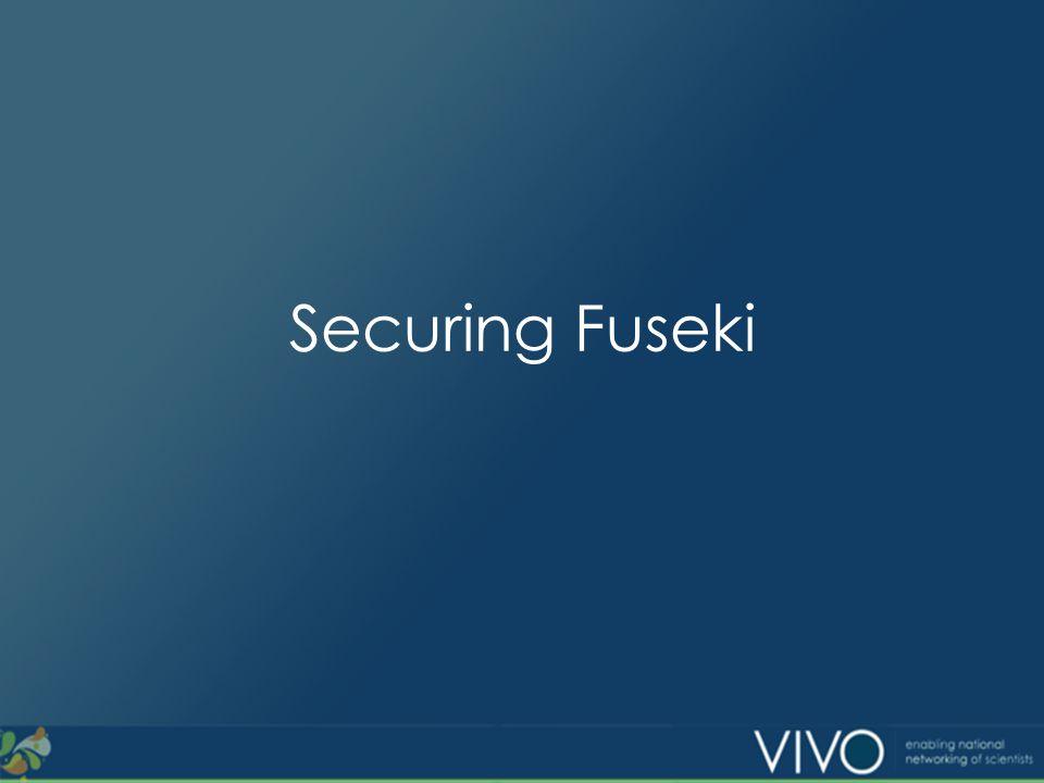 Securing Fuseki