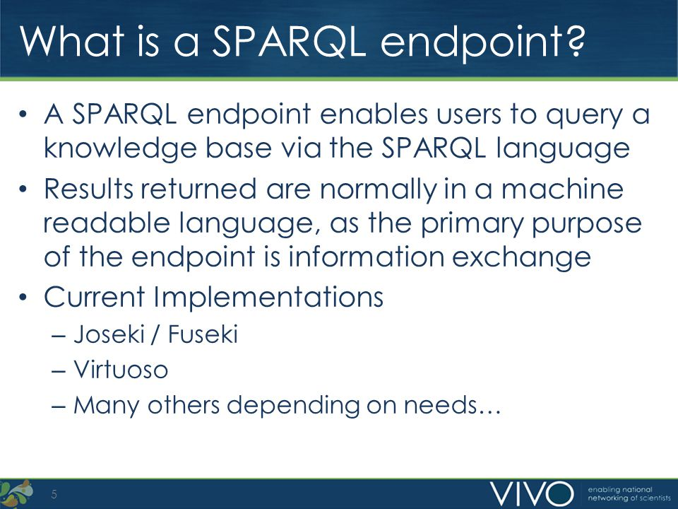 What is a SPARQL endpoint