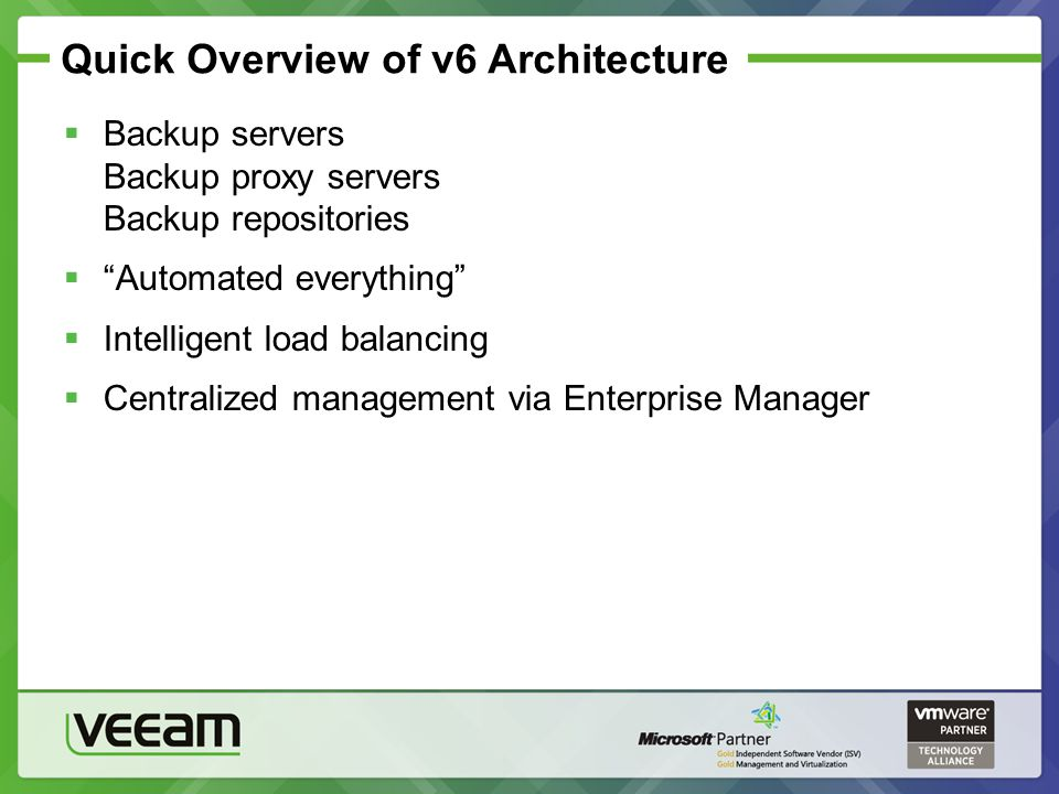 Quick Overview of v6 Architecture