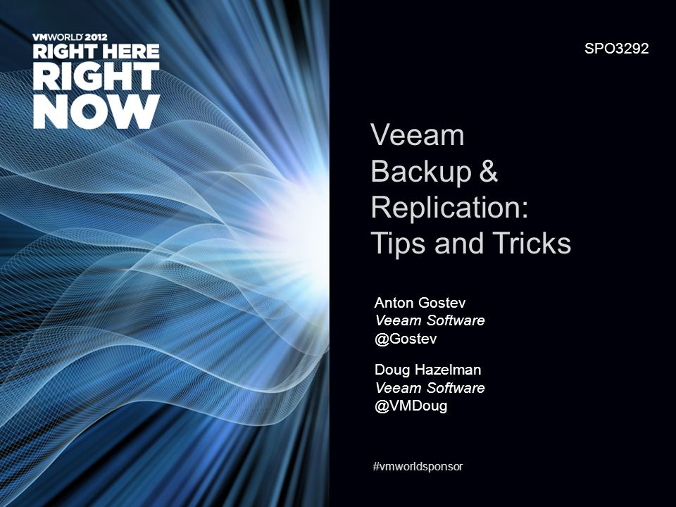Veeam Backup & Replication: Tips and Tricks