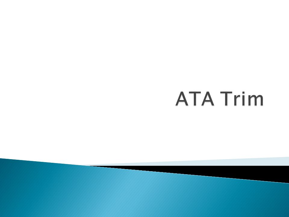 ATA Trim