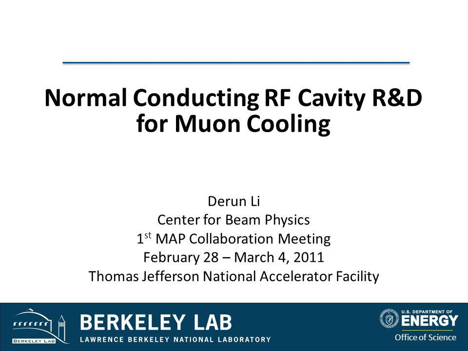 Normal Conducting RF Cavity R&D for Muon Cooling
