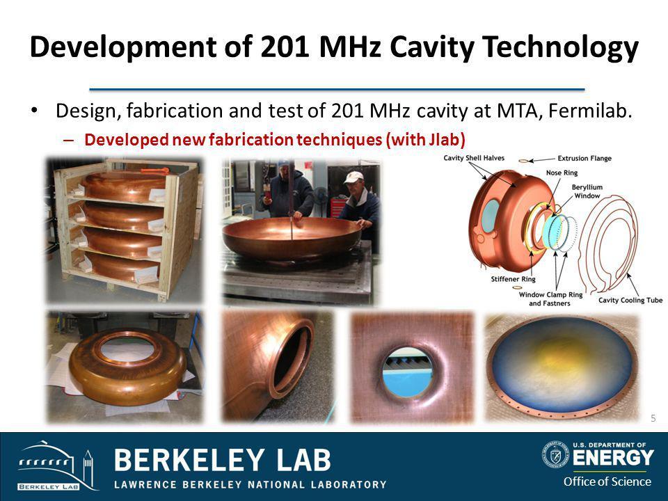 Development of 201 MHz Cavity Technology