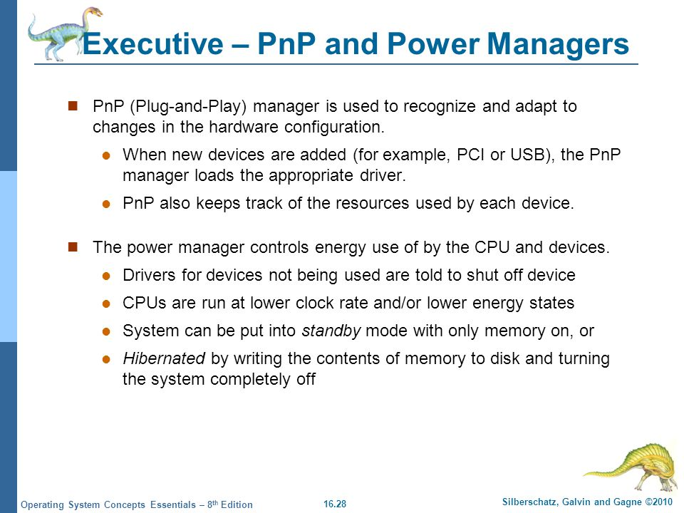 Executive – PnP and Power Managers