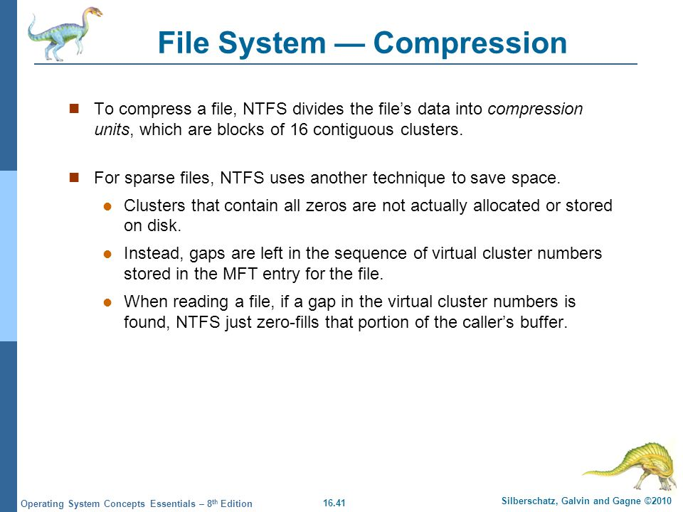 File System — Compression