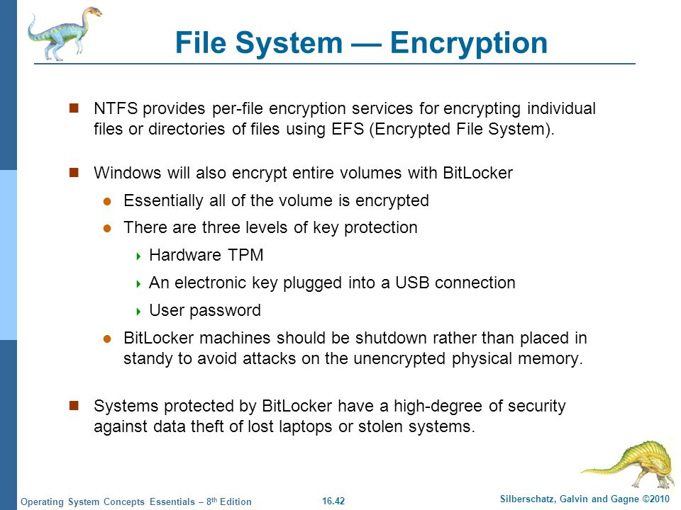 File System — Encryption