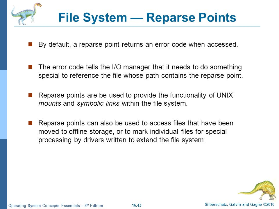 File System — Reparse Points