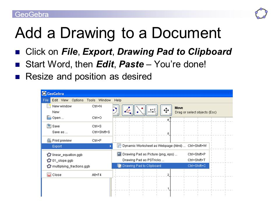 Add a Drawing to a Document