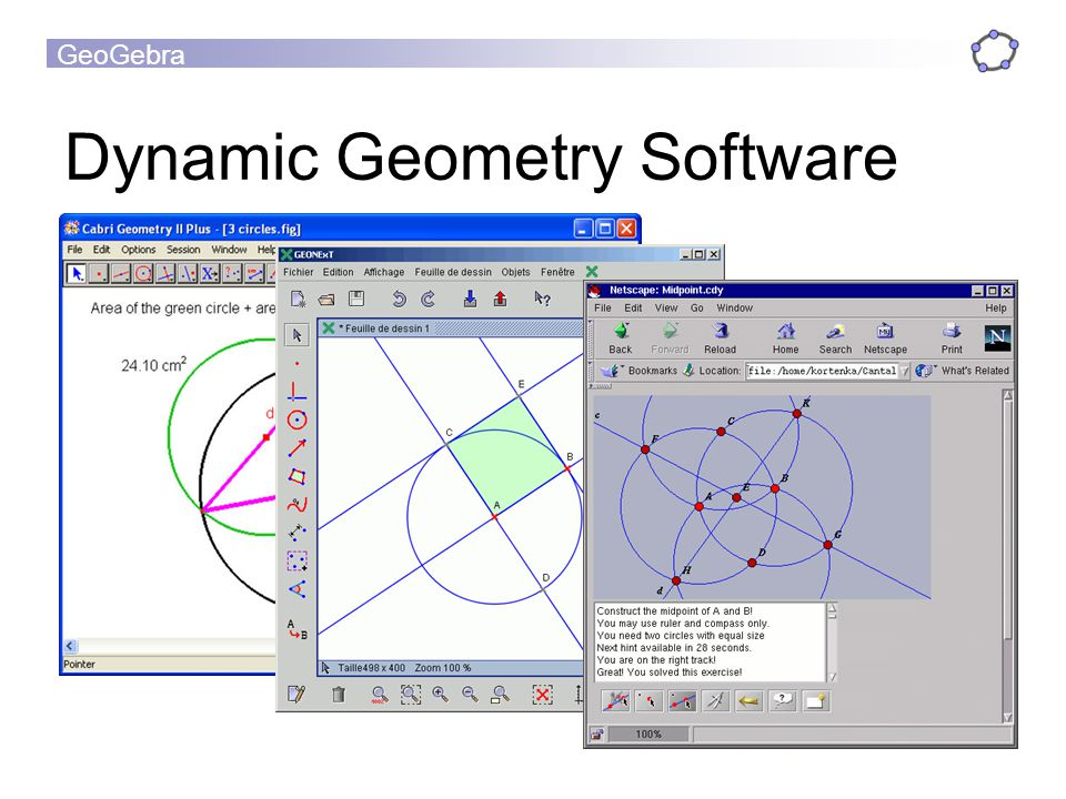 Dynamic Geometry Software