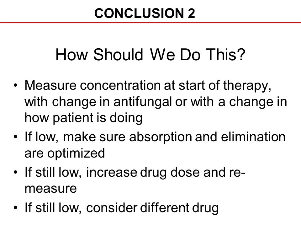 How Should We Do This CONCLUSION 2