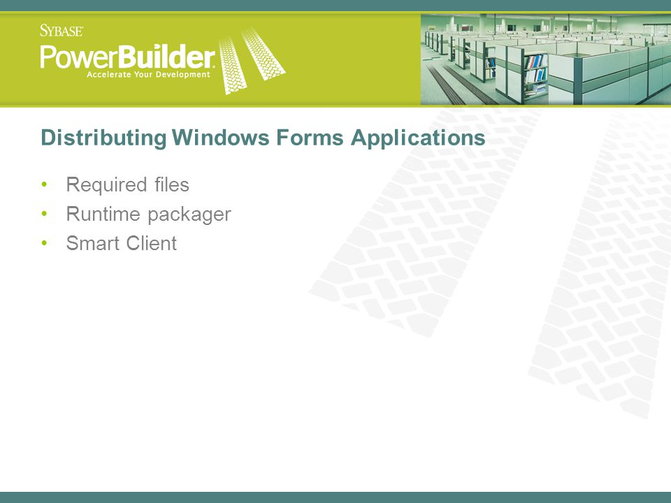 Distributing Windows Forms Applications