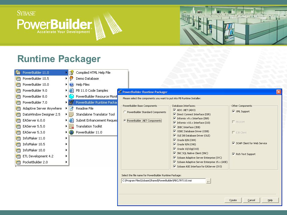 Runtime Packager
