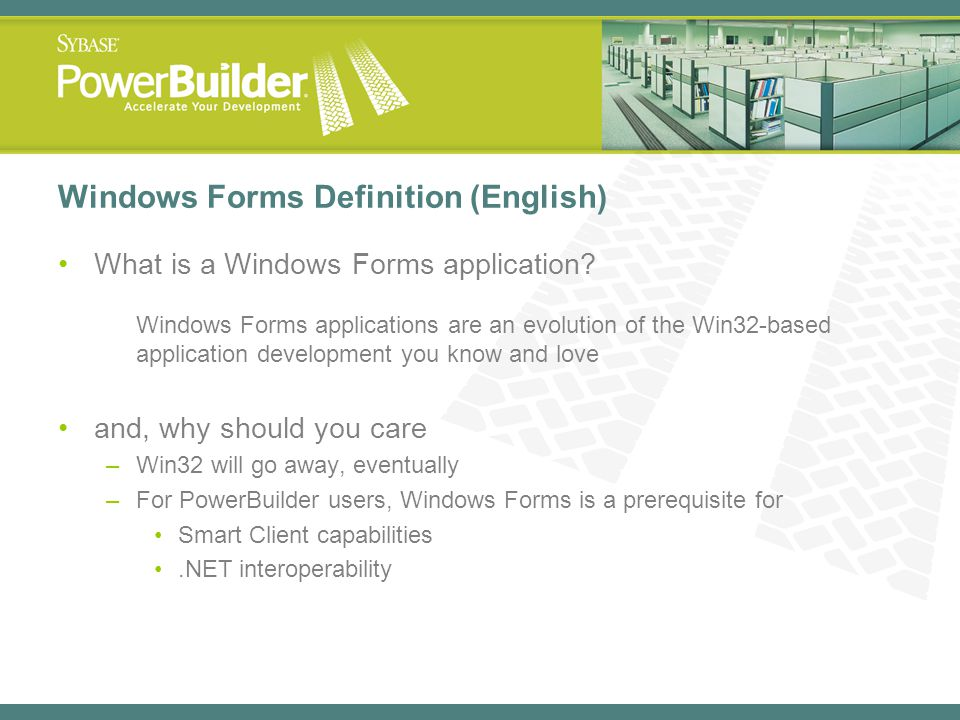 Windows Forms Definition (English)