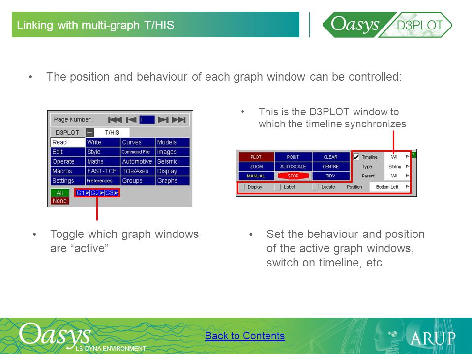 Linking with multi-graph T/HIS