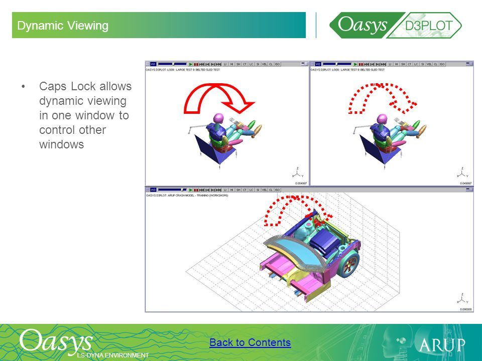 Dynamic Viewing Caps Lock allows dynamic viewing in one window to control other windows