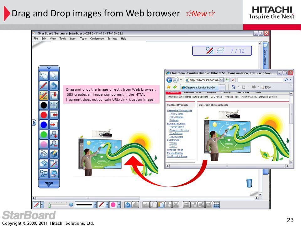Drag and Drop images from Web browser ☆New☆