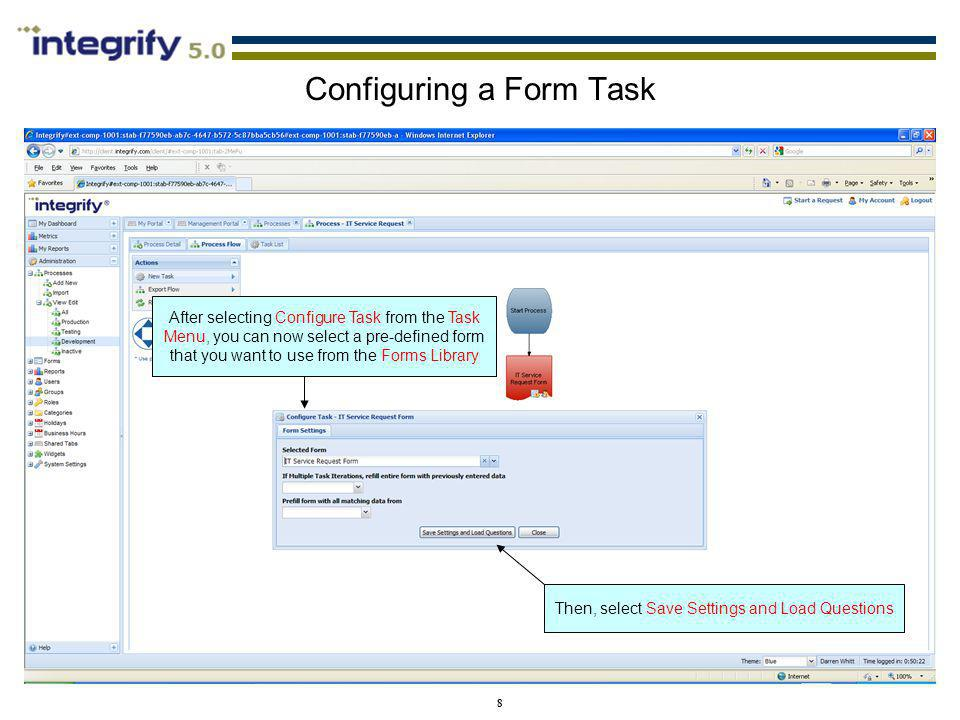 Configuring a Form Task