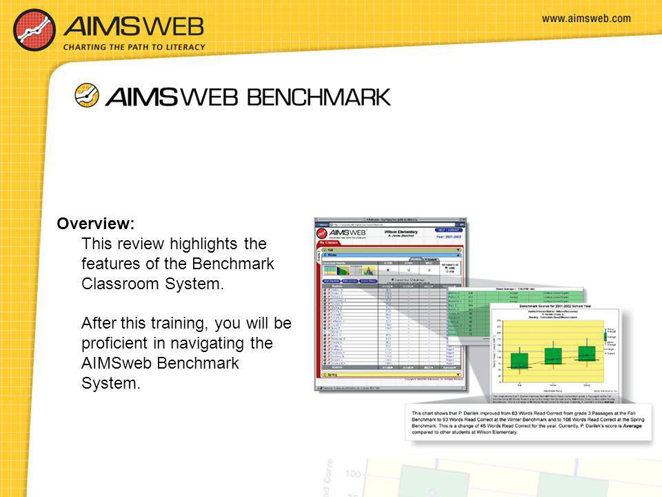 Overview: This review highlights the features of the Benchmark Classroom System.