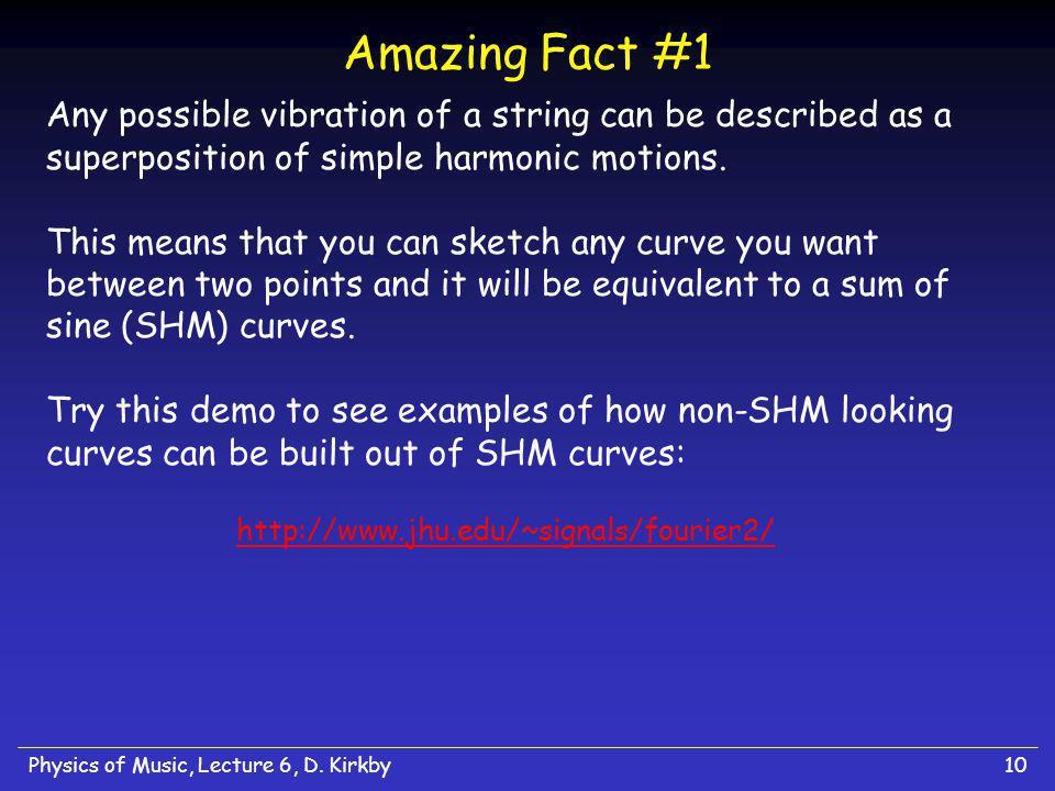 Amazing Fact #1