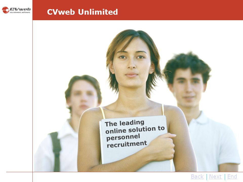 CVweb Unlimited The leading online solution to personnel recruitment
