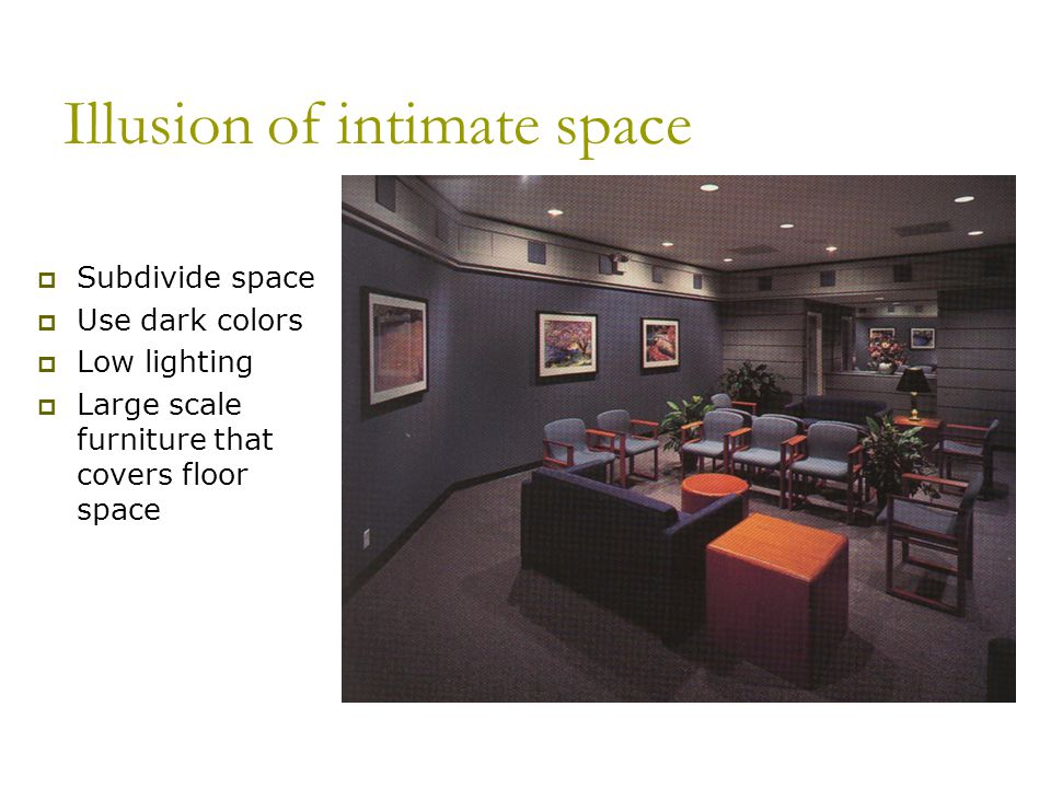 Illusion of intimate space