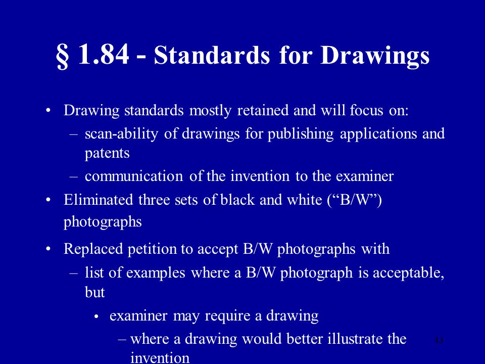§ 1.84 - Standards for Drawings