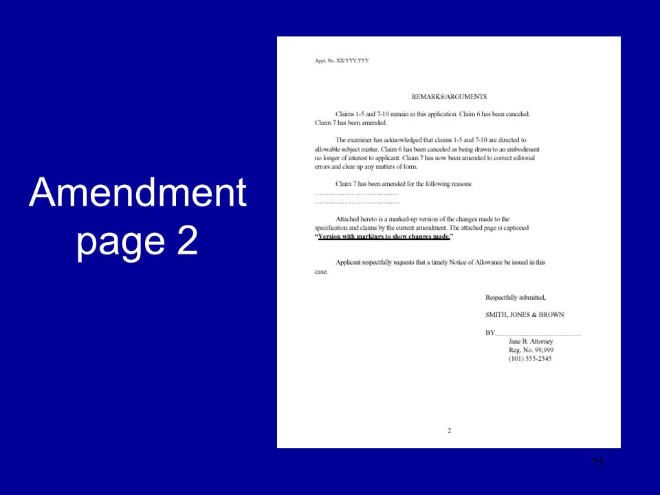 Amendment page 2
