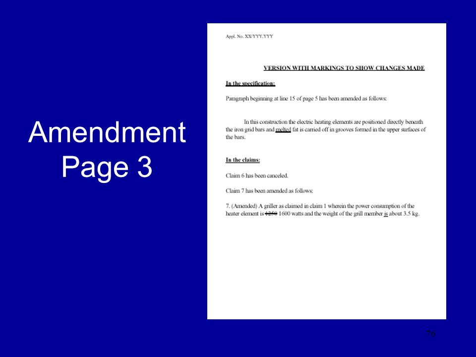 Amendment Page 3