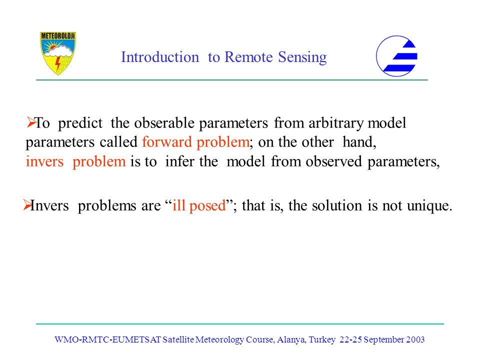 To predict the obserable parameters from arbitrary model