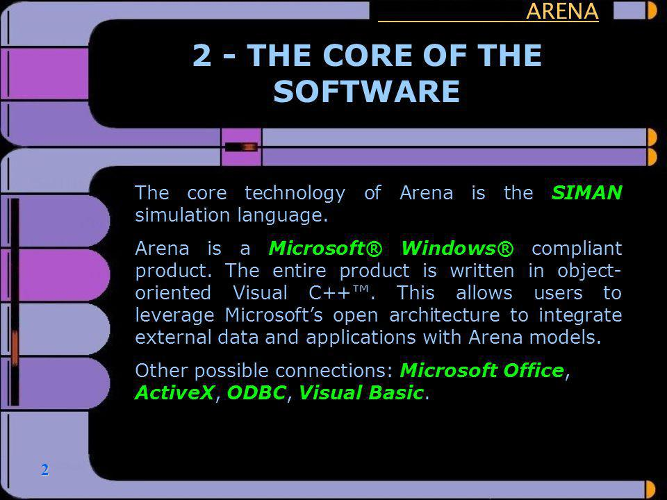 2 - THE CORE OF THE SOFTWARE