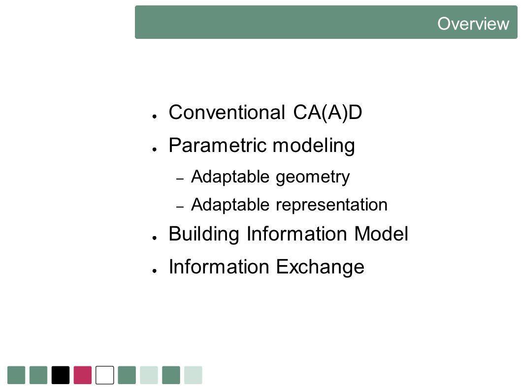 Building Information Model Information Exchange